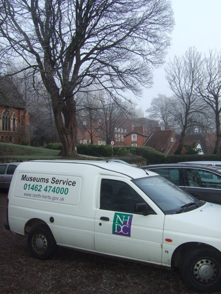 The museum van in Lincoln