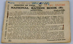 Fig III National Ration Book